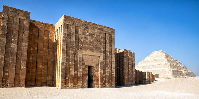 the necropolis saqqara